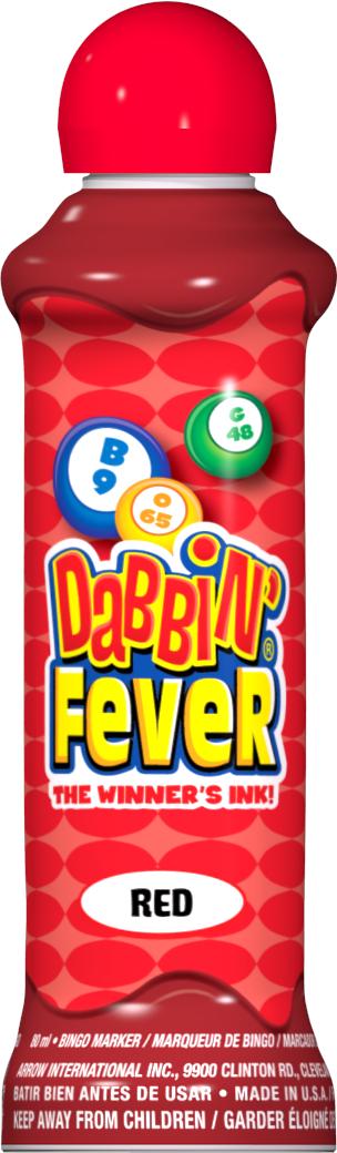 Red Dabbin' Fever Ink