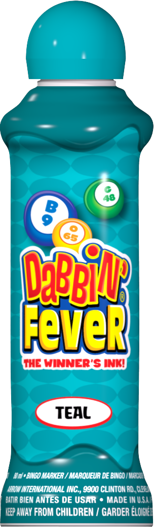Teal Dabbin' Fever Ink