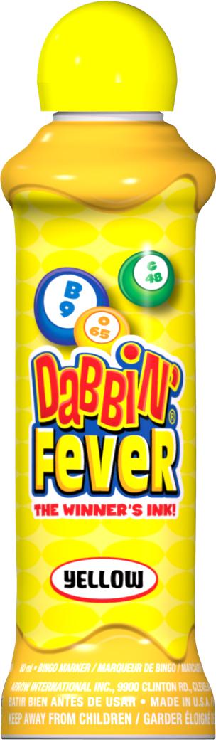 Yellow Dabbin' Fever Ink