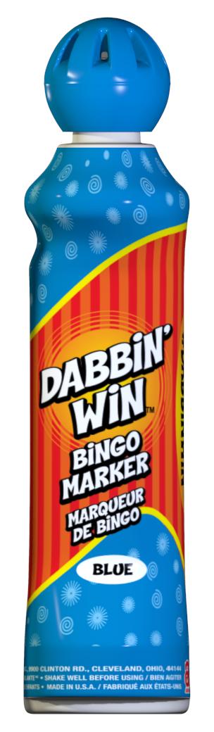 Blue Dabbin' Win Ink