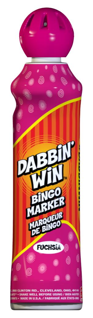 Fushia Dabbin' Win Ink