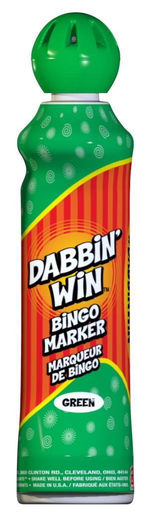 Green Dabbin' Win Ink