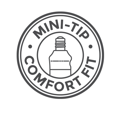 Mini-Tip Comfort Fit