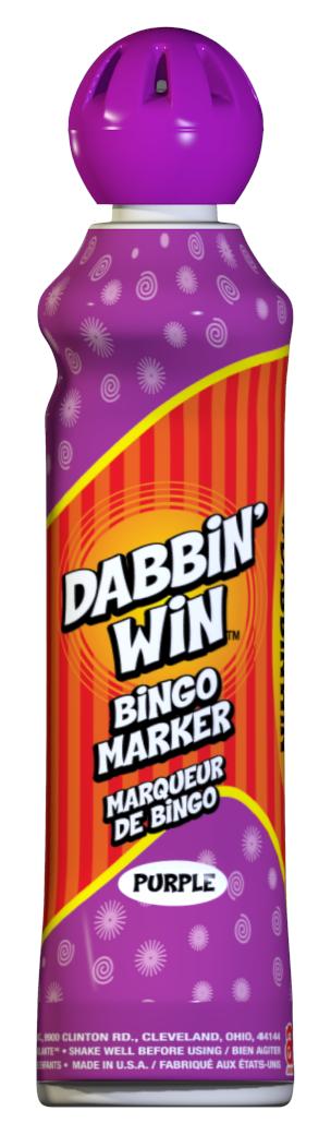 Purple Dabbin' Win Ink