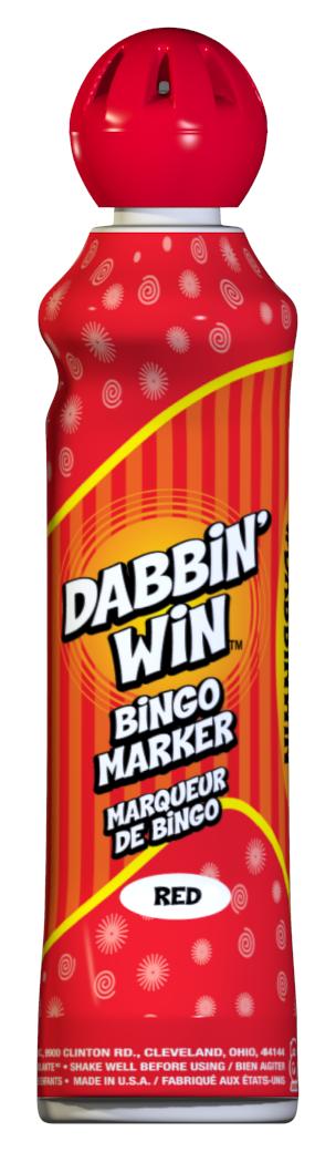 Red Dabbin' Win Ink