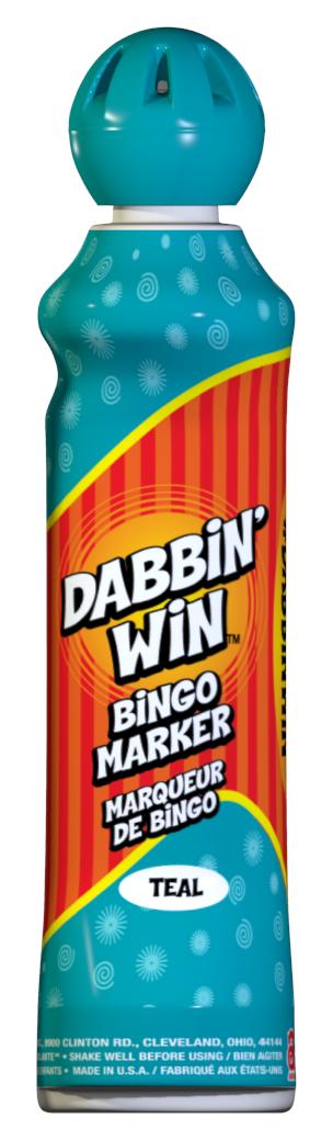 Teal Dabbin' Win Ink