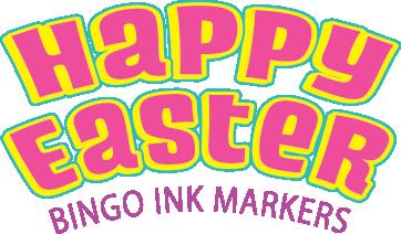 Happy Easter Ink Marker