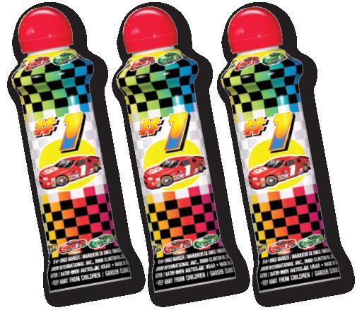 #1 Dad Racecar Bingo Ink Markers