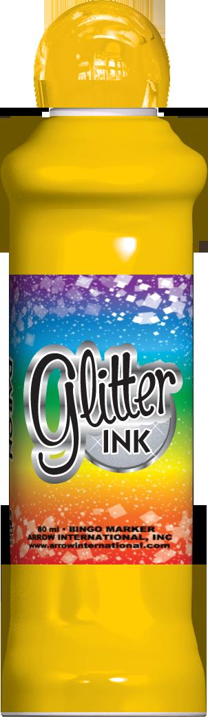 Gold Glitter Ink