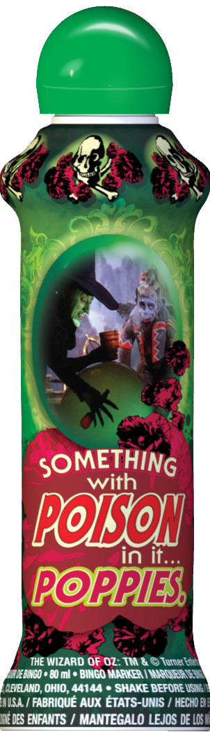 Witches Green Bingo Ink