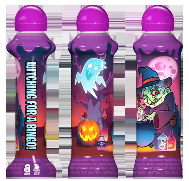 Happy Halloween Seasonal Bingo Ink
