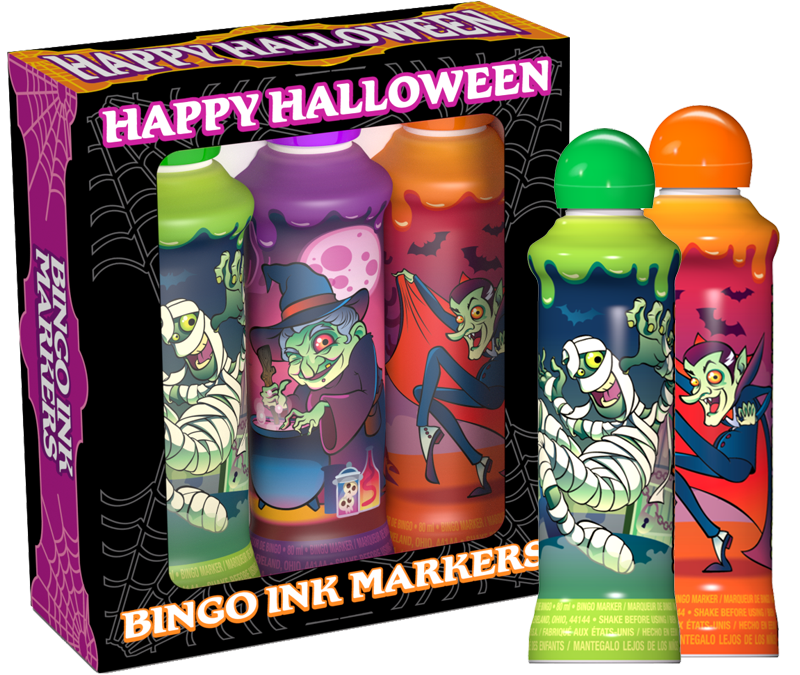 Happy Halloween Bingo Ink Gift Set