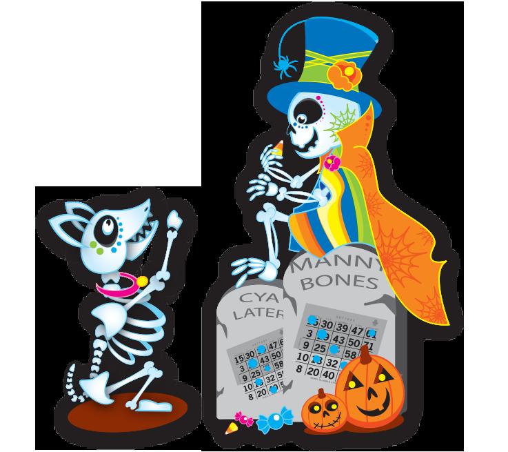 Halloween Bingo Ink Marker Bingo Ink Marker