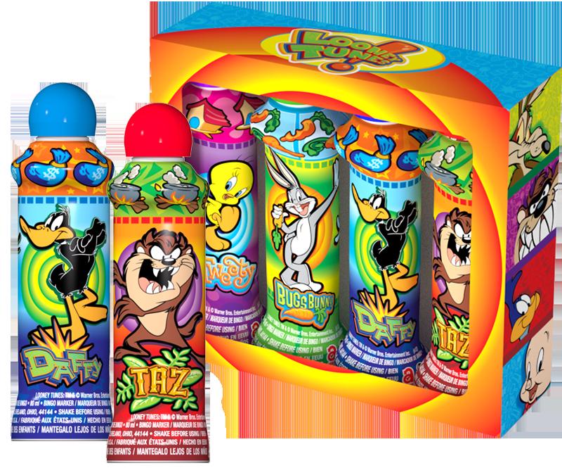 Looney Tunes Bingo Ink Gift Set
