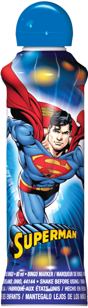 Blue Superman Ink