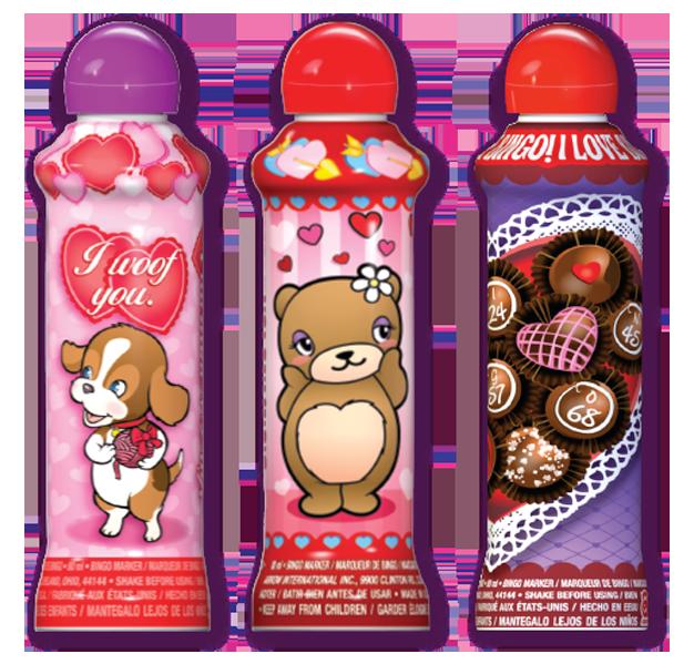 Valentine's Day Bingo Ink - While Supplies Last