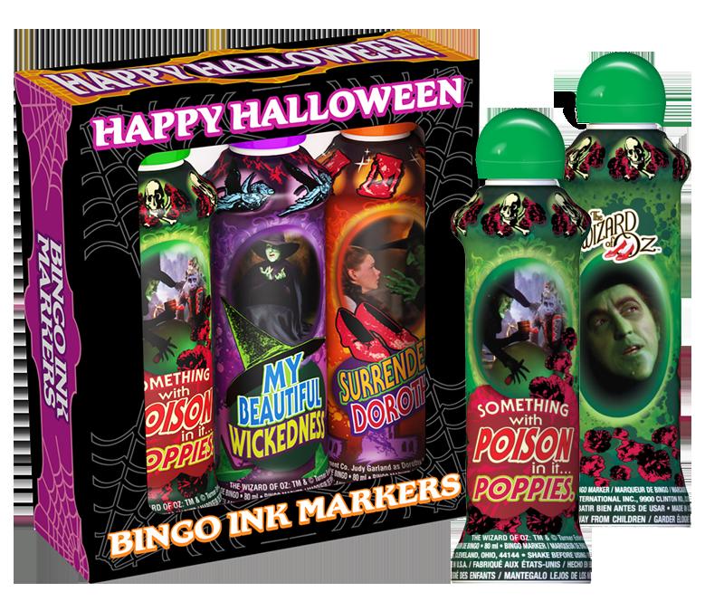 Wizard of Oz Witches Bingo Ink Gift Set
