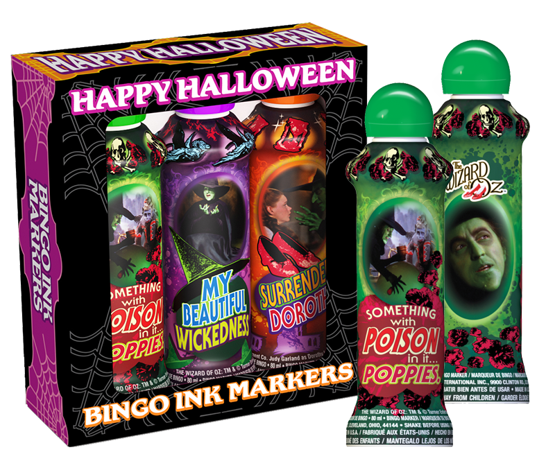 Wizard of Oz Witches Bingo Ink Gift Set