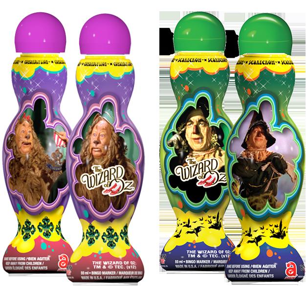 Wizard of Oz Licensed Bingo Ink