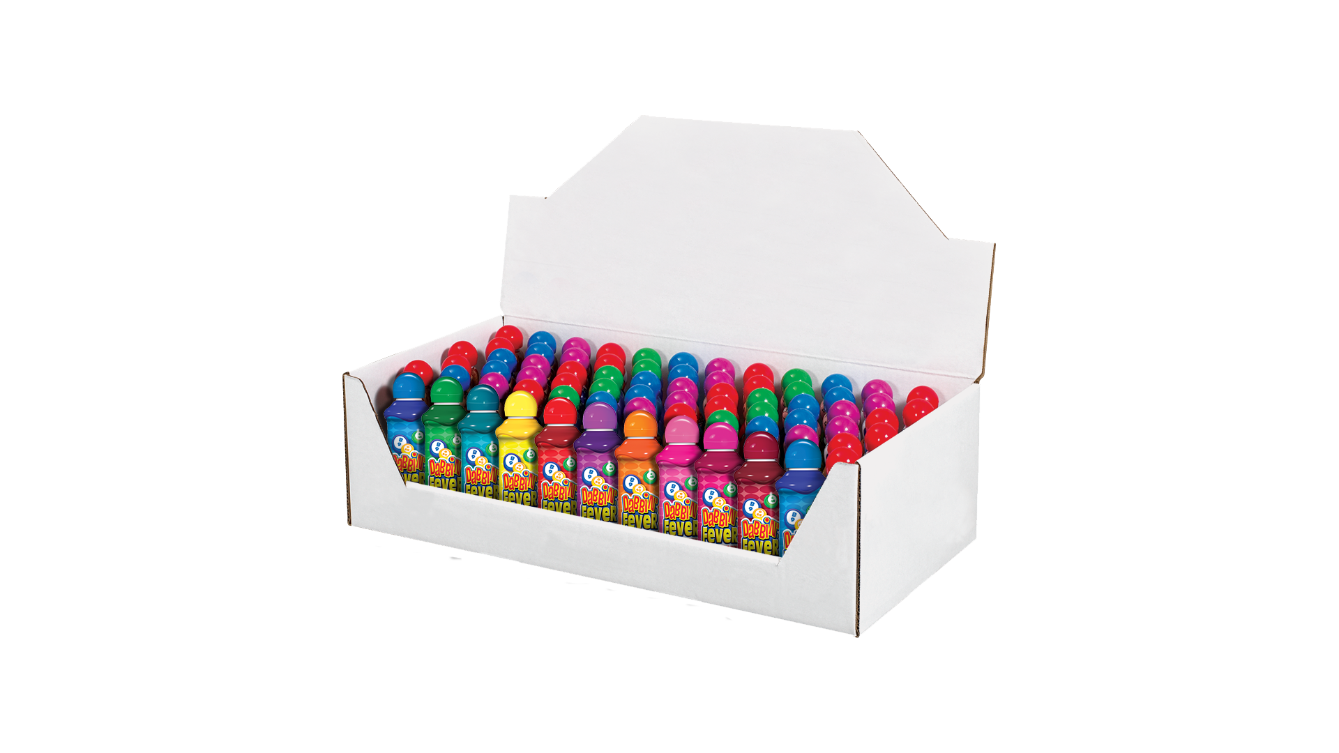 Corrugated Bingo Ink Display Box