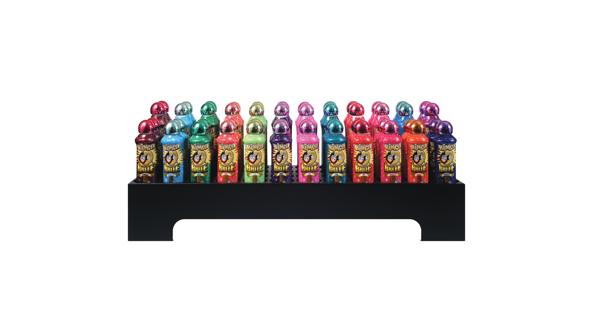 Rectangular Metal Bingo Ink Display Rack