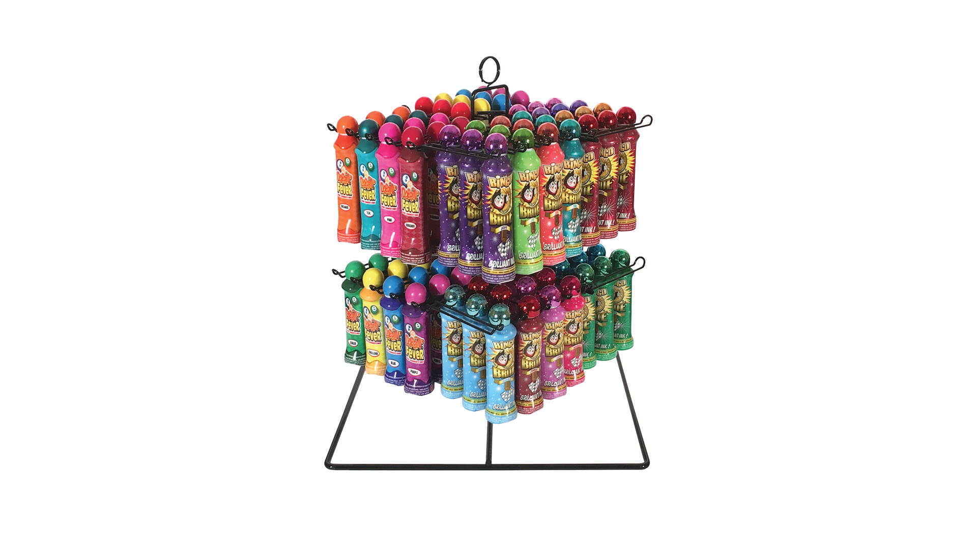 Metal Spinning Bingo Ink Rack
