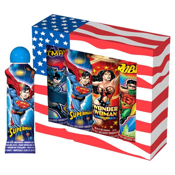Super Heroes - Licensed and Novelty Ink
