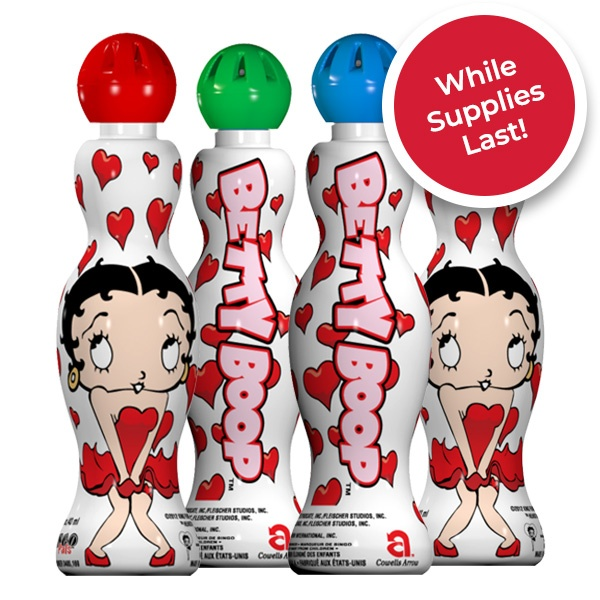 Betty Boop Hearts - Mini-Tip Bingo Ink