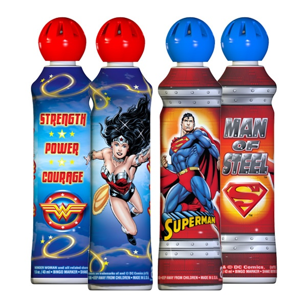 Wonder Woman and Superman - Mini-Tip Bingo Ink