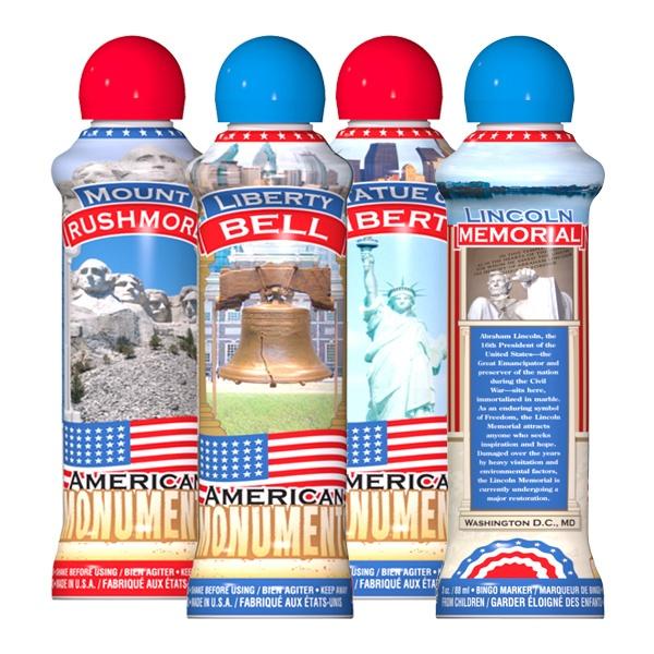 American Monuments - Patriotic Ink