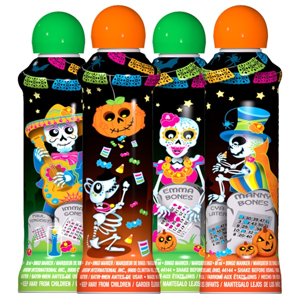 Halloween Skeletons - Seasonal Ink