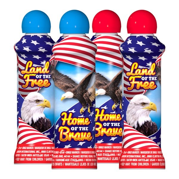 Land of the Free - Patriotic Ink