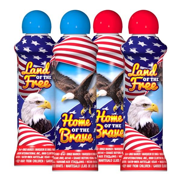 Land of the Free - Patriotic Ink