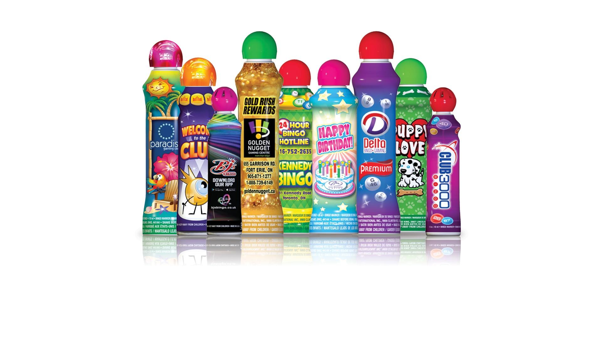 Customized Bingo Bottle Sleeves
