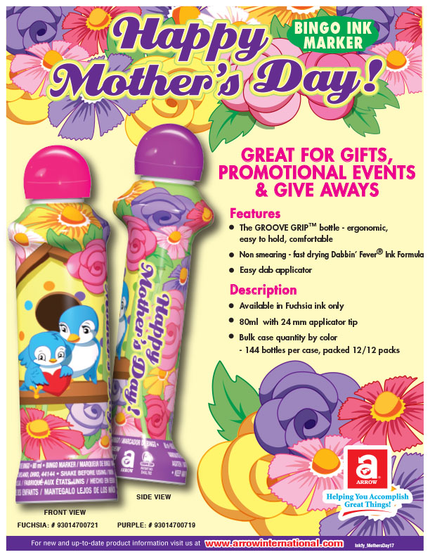 Happy Mother's Day - Blue Birds Flyer